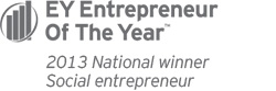 EY Entrepreneur of the Year - 2013 National Winner - Social entrepreneur