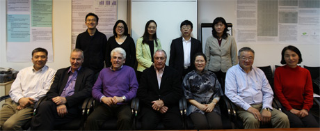 Trial steering committee members and the study team